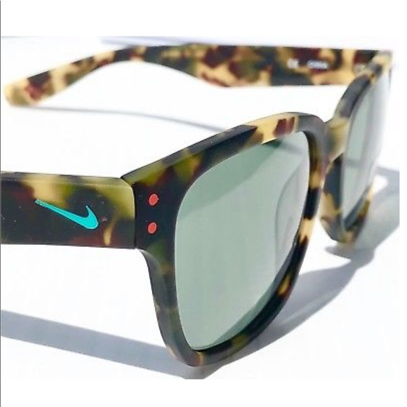 pálido Monasterio juego  Nike Accessories | Nike Volano Matte Tortoise Teal Ev877 203 Sunnies |  Poshmark